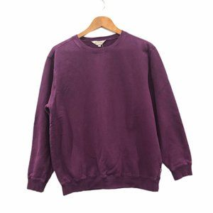 Northern Reflections Crewneck Sweatshirt Purple M